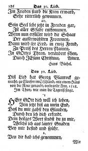 Figure 2. George Blaurock, Herr Gott dich will ich loben (1742 Ausbund, No. 30).
